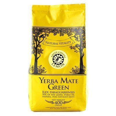 картинка Мате Mate Green Lemon 400g  от DonMate.ru