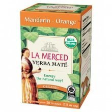 картинка Мате La Merced Mandarin-Orange Organic 20 Tea Bags  от DonMate.ru